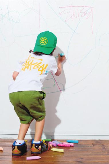 Stussy Kids 2012 Spring/Summer Lookbook