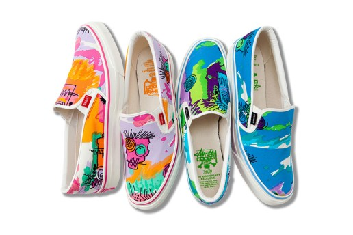 Stussy ZOZO CHAPT 5th Anniversary Exclusive Slip-On