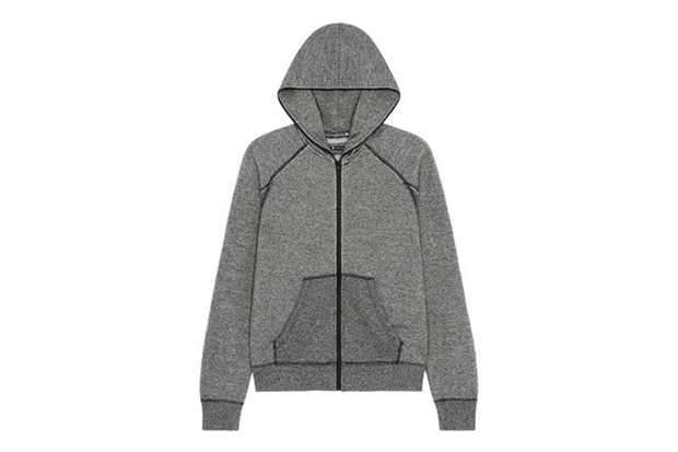 T by Alexander Wang Zip-Up Hoodie