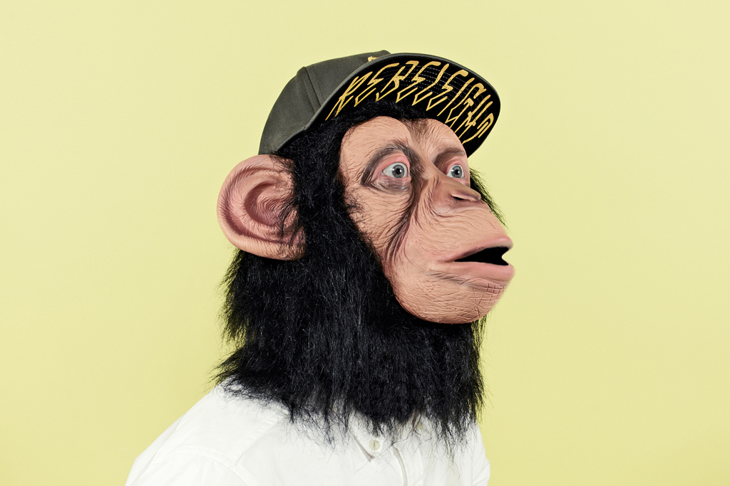 the chimp who would be human cap lookbook by chimp