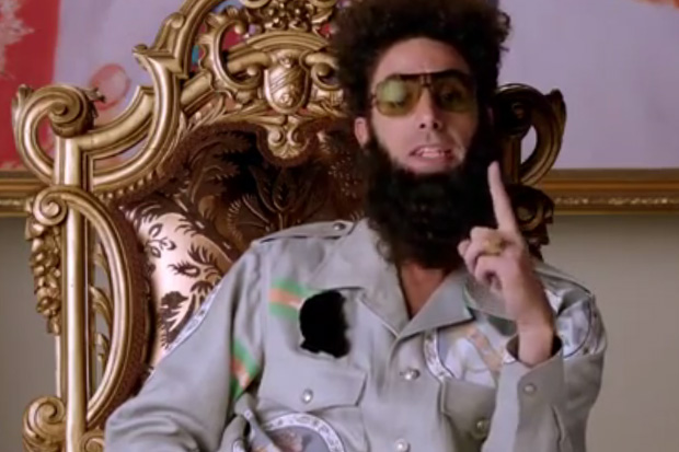 The Dictator Movie Official Restricted Trailer