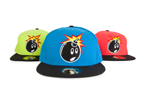 "The Hundreds ""Fluorescent Adam"" New Era Caps"