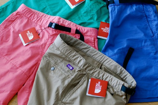 THE NORTH FACE PURPLE LABEL 2012 Mountain Shorts