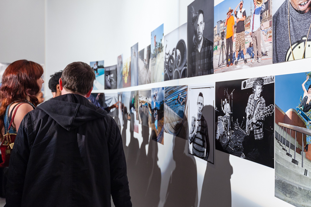 the skateboard mag 100th issue photo exhibition recap