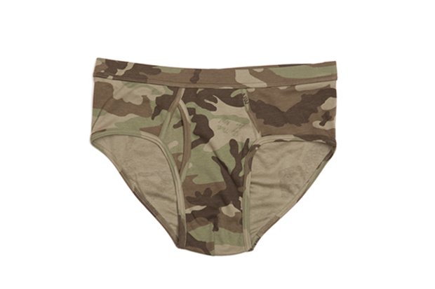 The White Briefs for Nick Wooster Camouflage Collection