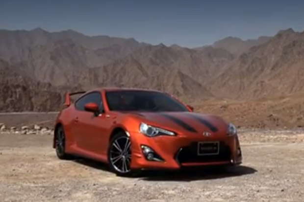 Toyota 86 UAE Launch Video