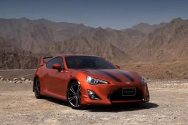 Toyota 86 UAE Launch Video
