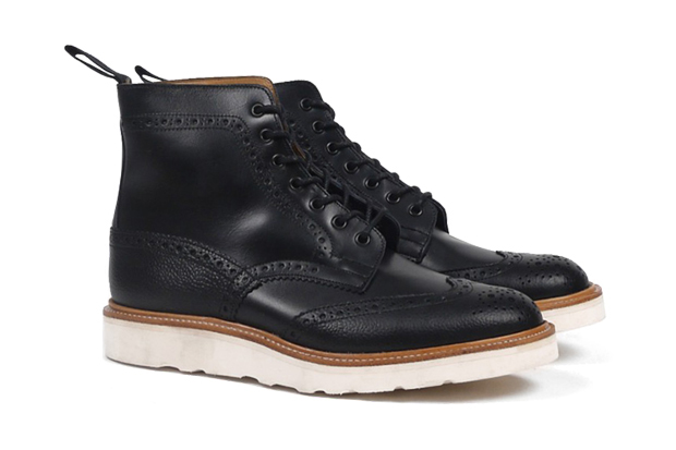 trickers for present two tone brogue boot
