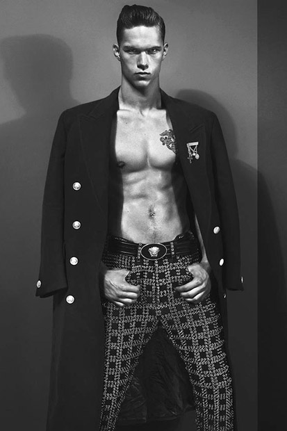 versace 2012 fall winter campaign