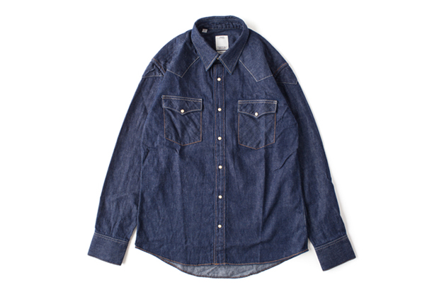 visvim ss four corners shirt one wash f i l exclusive