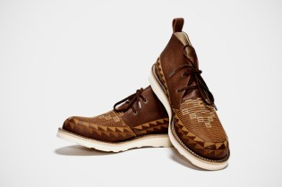 White Mountaineering Brown Leather Chukka