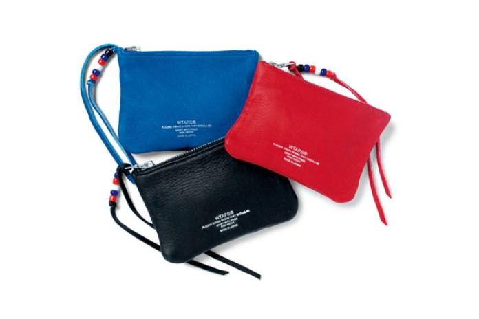 WTAPS 2012 Spring/Summer Leather Zip Pouches