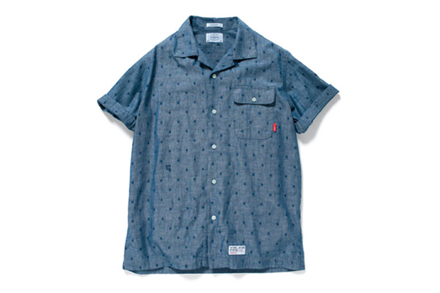 wtaps 2012 spring summer ernest dot chambray shirt