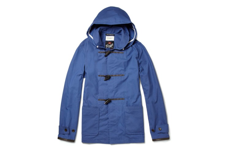 YMC for MR PORTER 2012 Spring/Summer Gloverall Waxed-Cotton Duffle Jacket