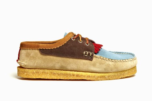 Yuketen 2012 Spring/Summer Blutcher Kiltie Shoes