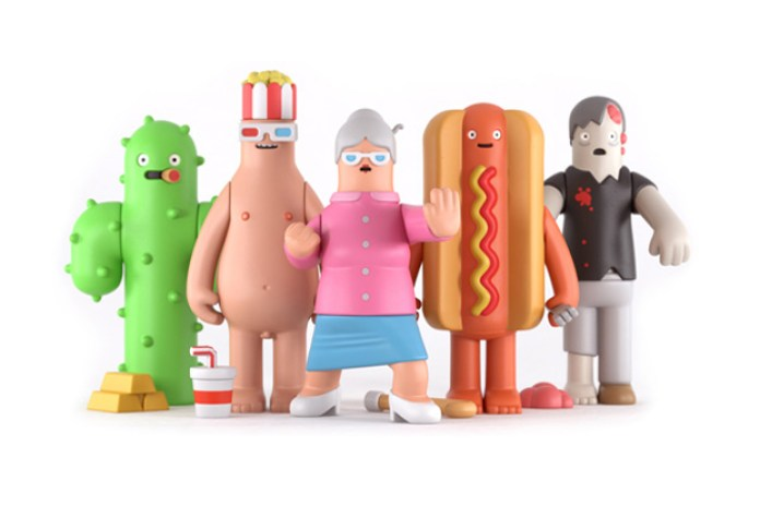 "Yum Yum London Releases Toys For Their ""Happy Food"" Short Video"