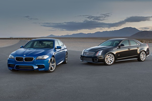 2012 Cadillac CTS-V vs. 2013 BMW M5 Road Test