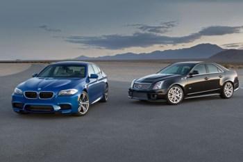 2012 Cadillac CTS-V vs. 2013 BMW M5 Road Test