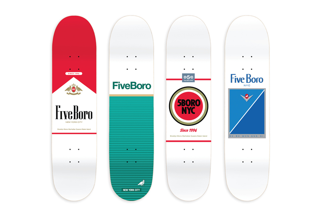 5boro nyc surgeon general skateboard decks