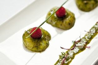 HYPEBEAST Eats... Marinated Scallops with Watercress and Wasabi by Chez Patrick Deli