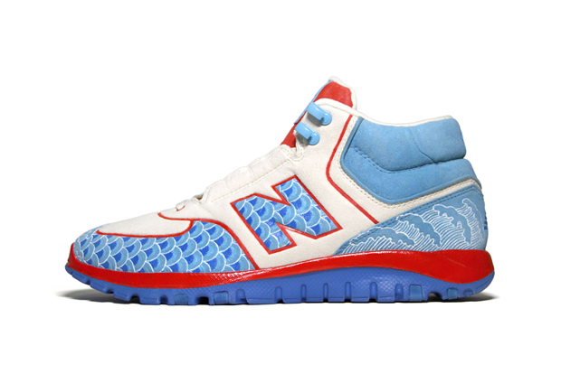 "New Balance HS77 ""Dragon Boat Festival"" Bespoke by Zhijun Wang"
