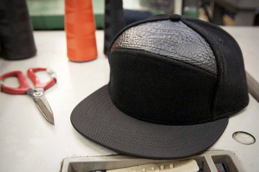 PROCESS: Quintin Co. Custom 6 Panel Snapback