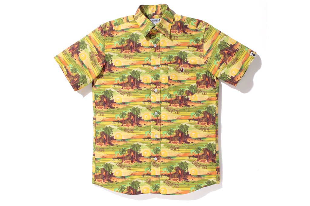 """A Bathing Ape x Undefeated 2012 Spring/Summer """"Hawaiian"""" Collection"""