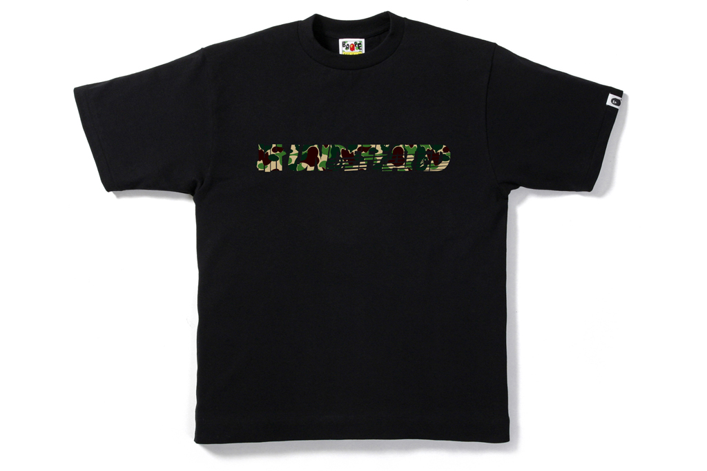 a bathing ape x undefeated 2012 springsummer t shirt collection