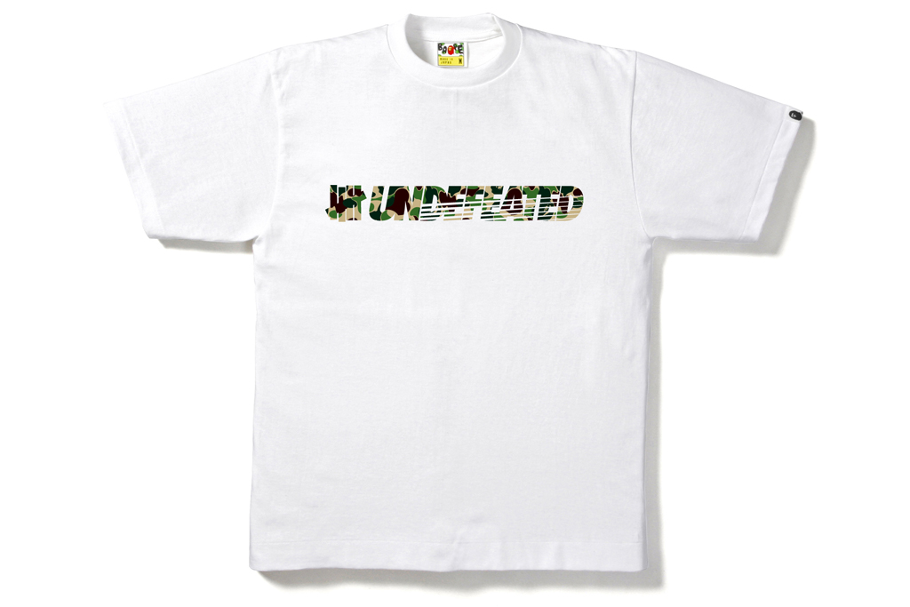 A Bathing Ape x Undefeated 2012 Spring/Summer T-Shirt Collection