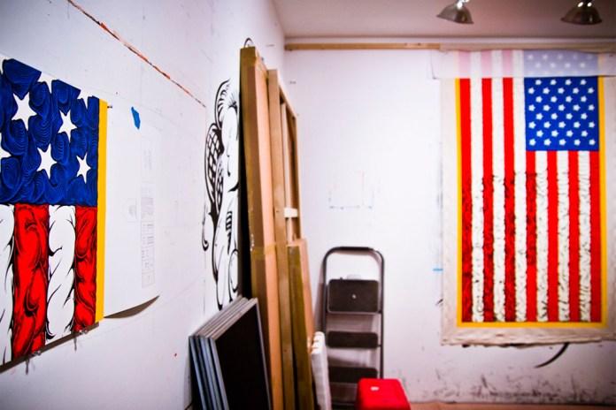 A Studio Visit with Mark Dean Veca