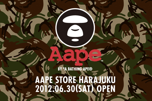 AAPE by A Bathing Ape Harajuku Store Opening