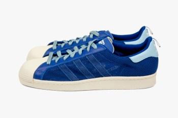 """adidas Originals by Originals Kazuki Kuraishi x CLOT """"kzKLOT"""" Superstar 80s Royal Blue"""