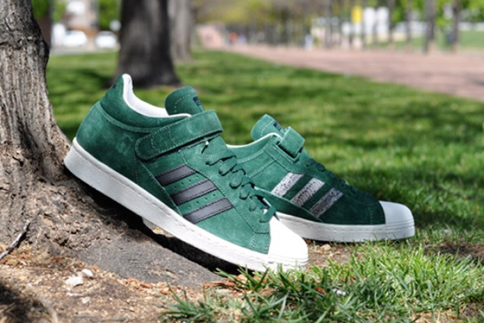 adidas Originals PRO SHELL Dark Green