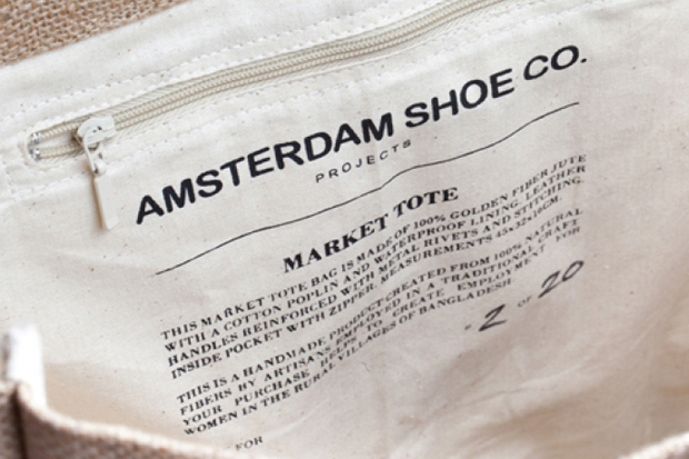 Amsterdam Shoe Co. 2012 Summer Market Tote