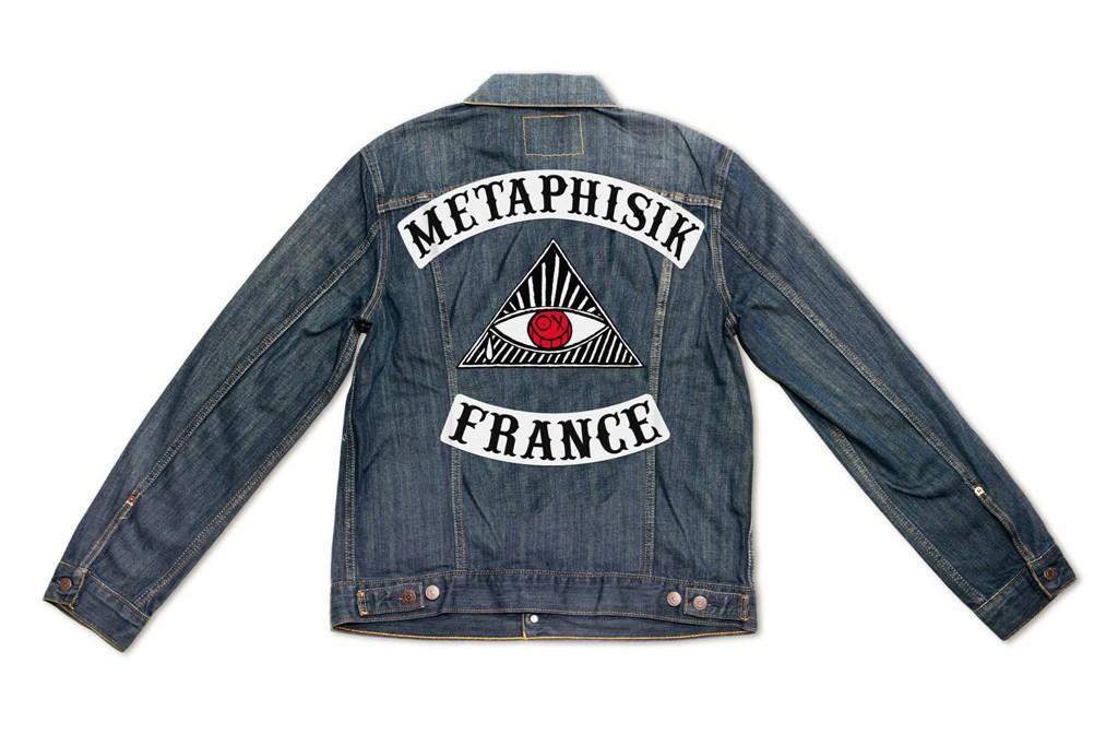 André Saraiva x Shepard Fairey x Levi's Paris Denim Trucker Jackets
