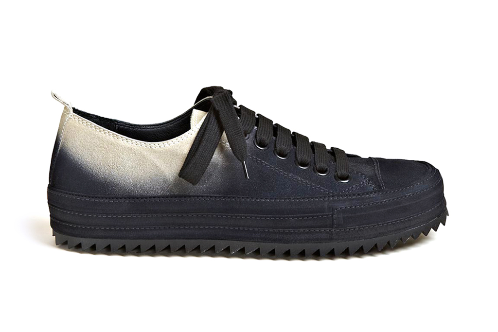Ann Demeulemeester 2012 Fall/Winter Scamosciato Two Tone Trainers