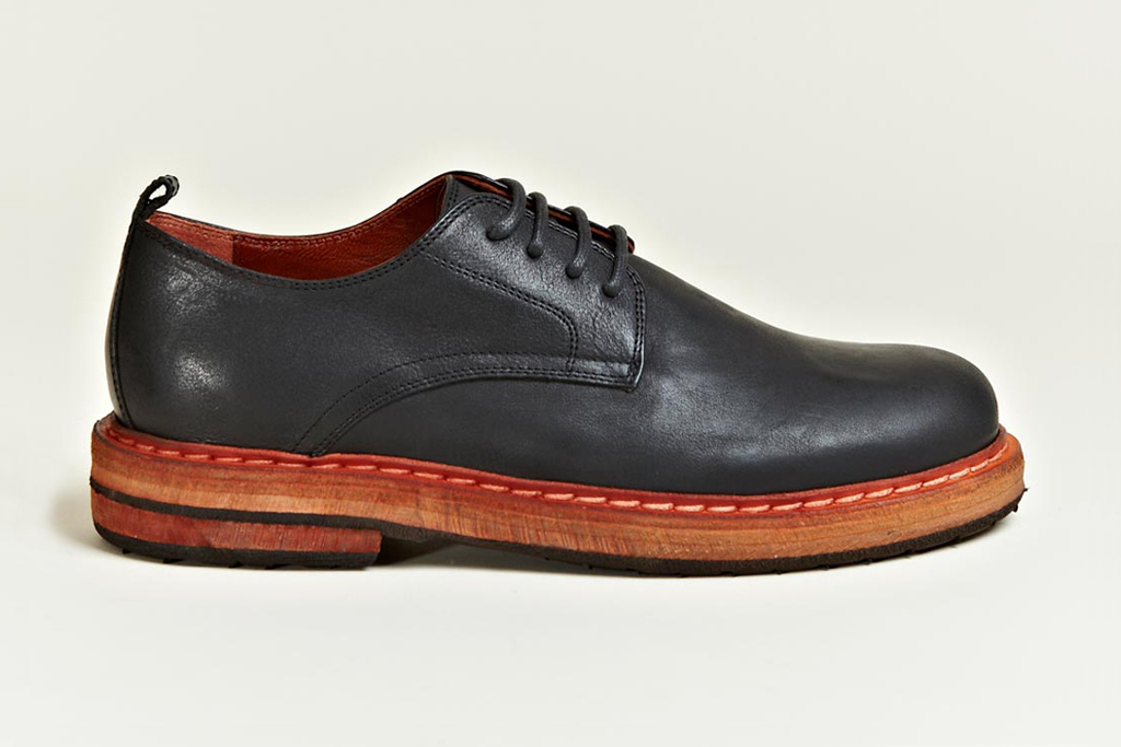 Ann Demeulemeester 2012 Fall/Winter Vitello Olio Derby Shoes