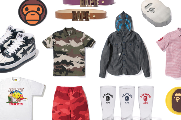 a bathing ape 2012 fall winter collection