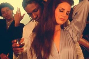 A$AP Rocky featuring Lana Del Rey - Ridin'
