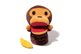 A Bathing Ape Baby Milo Puppet