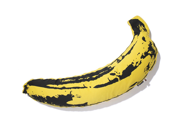 bape camo banana pillow