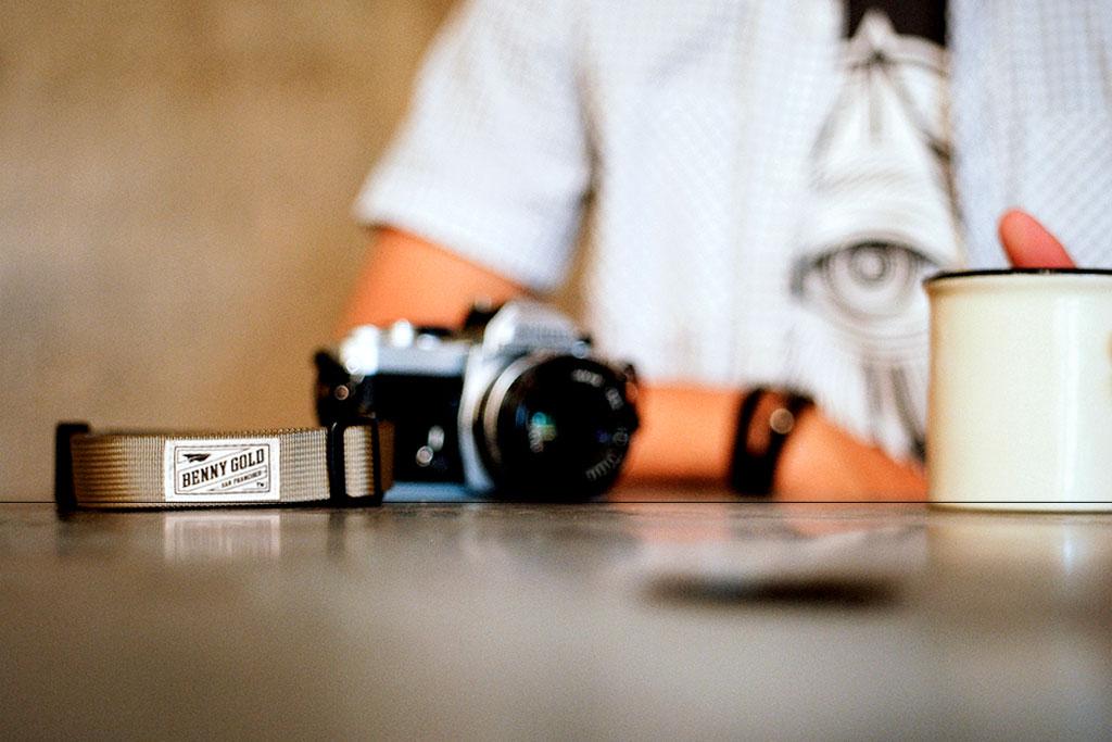 benny gold x dsptch camera straps
