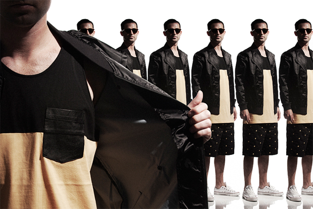Black Scale 2012 Summer Lookbook