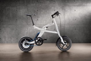 BMW i Pedelec Foldable Electric Bicycle Made for the BMW i3 Electric Car