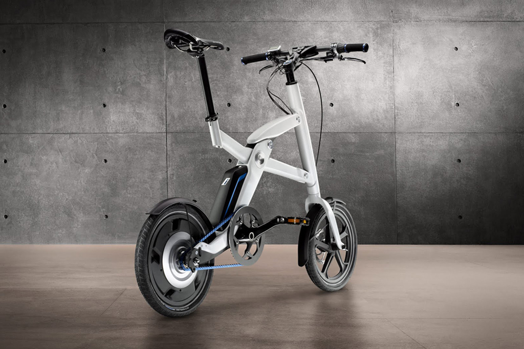 bmw i pedelec foldable electric bicycle made for the bmw. Black Bedroom Furniture Sets. Home Design Ideas