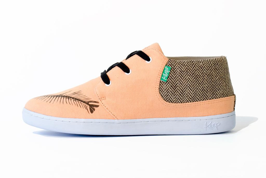 Bon Iver x Keep Ramos Shoe