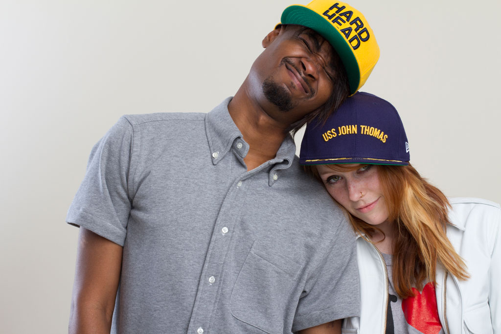 Behind-the-Scenes with Danny Brown & Kitty Pryde for Mark McNairy 2013 Spring/Summer Lookbook