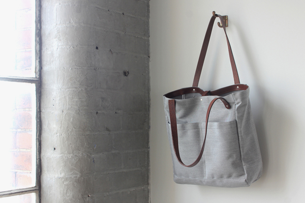 Campbell Cole Acrylic Canvas Utility Tote