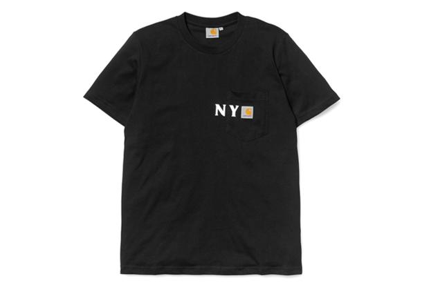 carhartt wip 2012 nyc pocket t shirt