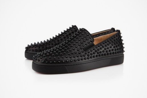 Christian Louboutin 2012 Rollerboat Flat in Black